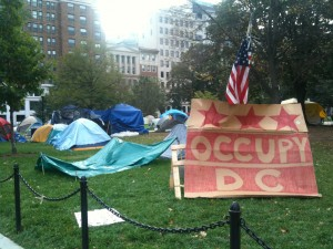 Occupy D.C. in McPherson Square